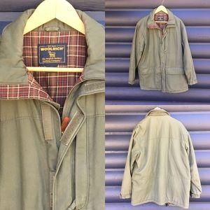 Woolrich Vtg Loden lined barn coat men's medium